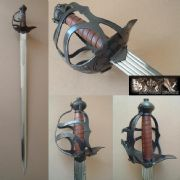 English Mortuary Hilt Sword